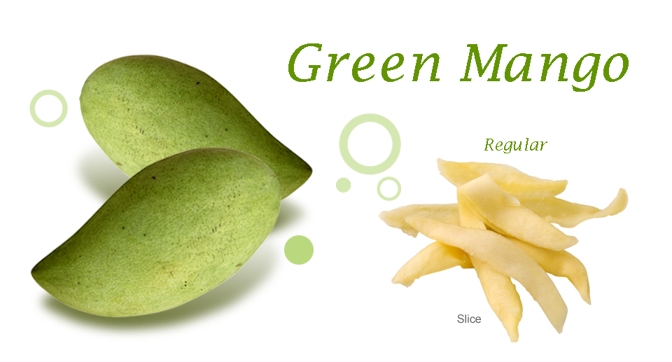 Green Mango Dried Fruit