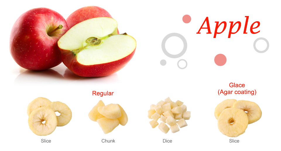 Apple Dried Fruit -