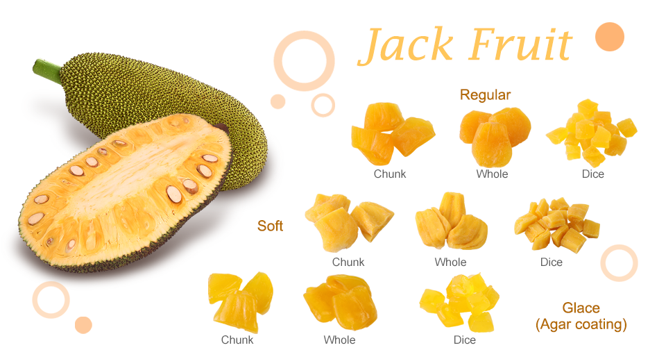 Jack Fruit Dried Fruit