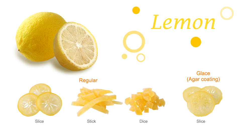Lemon Dried Fruit