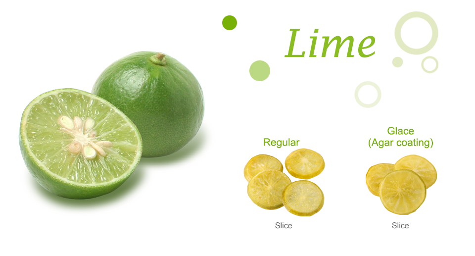 Lime Dried Fruit