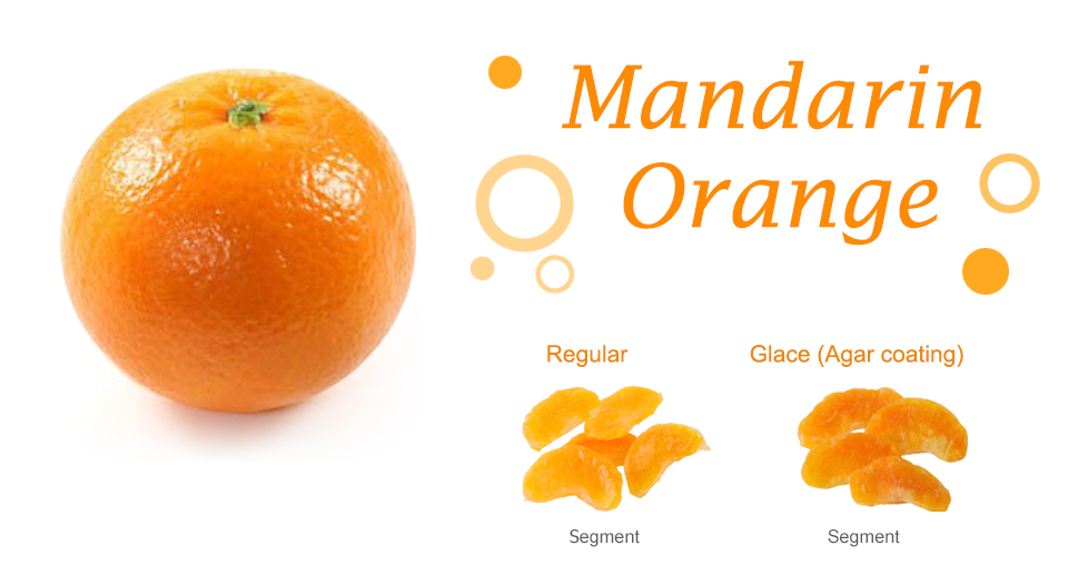 Mandarin Orange Dried Fruit