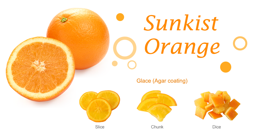 Sunkist Orange Dried Fruit