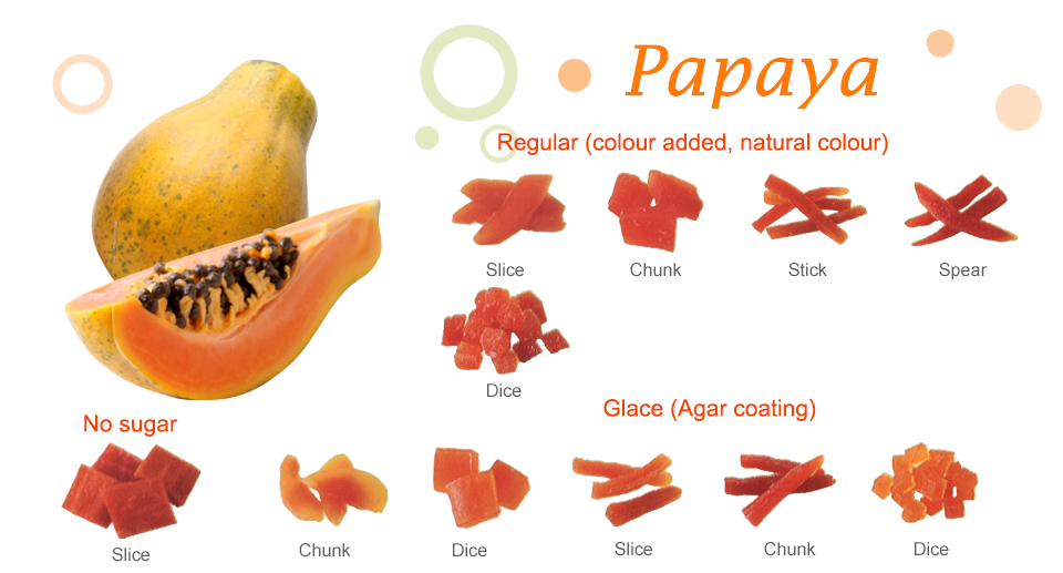 Papaya Dried Fruit