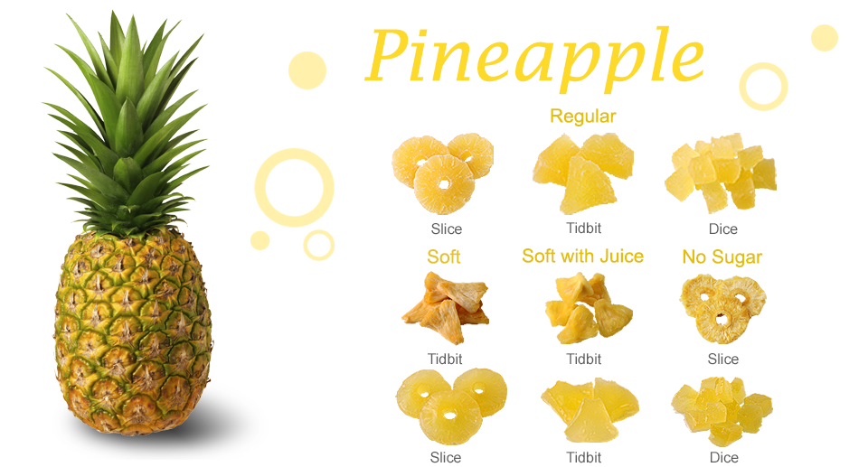 Pineapple Dried Fruit