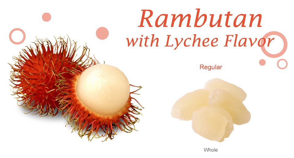Rambutan Dried Fruit