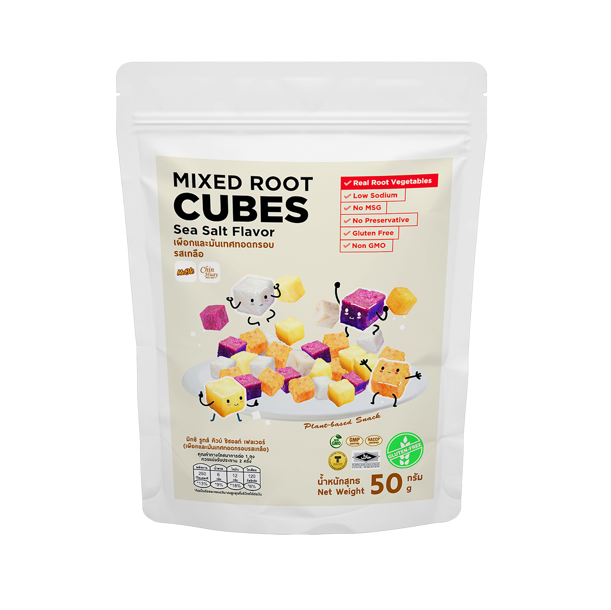 Meble Mixed Root Cubes Chip ผักกรอบ